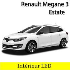 Kit ampoules à LED pour l'éclairage intérieur blanc Renault Megane 3 Grandtour