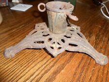 Antique Christmas tree stand Cast Iron made in Germany 1900s