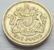 RARE 2008 one pound coin. Last royal arms design coin hunt