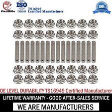 Exhaust Manifold Header Hardened Stainless Steel Bolts For Ford 4.6 5.4 Liter V8