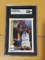 1992 NBA Hoops #442 Shaquille O'Neal SGC 10 Newly Graded RC Rookie PSA BGS
