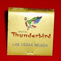 Vintage   Las Vegas VEGAS - THUNDERBIRD HOTEL  MATCHBOOK