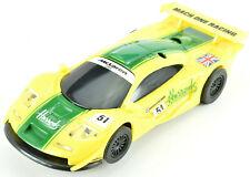 "Cartronic ""Harrods"" BMW McLaren F1 W/ Lights 1/32 Scale Slot Car 36-07500"