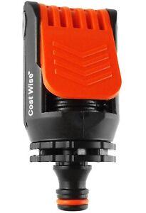 Kitchen Tap Connector to Garden hose Adaptor, Hozelock compatible - ORANGE