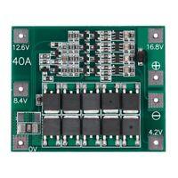 4s 16.8V 18650 Lithium  Batterie Ladegerät Schutz Board Pcb Bms Cell 40A ModX9W8