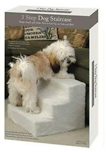 Etna Products Pet Stairs 3 Steps Stairs Small Dog Cat Steps Pet Ramp Ladder