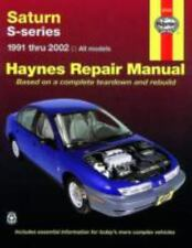 Saturn S-series: 1991 thru 2002 All models (Haynes Repair Manual), Mark Ryan, Jo