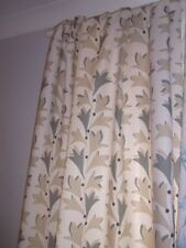 Sanderson Living Room 100% Cotton Curtains & Blinds