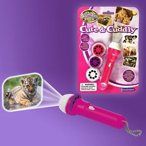 Cute & Cuddly Torch & Projector - baby, animals, LED, projection, travel, campin