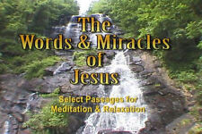 """""""Words Miracles of Jesus"""" The word to meditate on. DVD"""