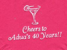 MARTINI GLASS LOGO 50 Personalized printed LUNCHEON DINNER napkins