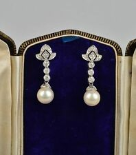 Pearl Earrings Vintage Fine Jewellery (1960s)