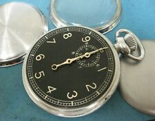 Waltham Military 1940's Stop Watch Mint Cond needs mainspring
