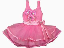 Baby Girl Princess Party Formal Christening Wedding Bridesmaid Dress 6-12 Month