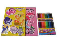 My Little Pony Para Colorear & Libro De Actividades & pegatinas & 16 rotuladores