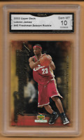 2003-04 Upper Deck Lebron James Freshman Season Rookie #45 GMA Gem Mint 10