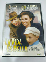 La Vita È bella Roberto Benigni - DVD Regione 2 Spagnolo Inglese