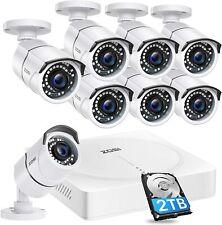 Zosi Super HD Caméra de surveillance Système DVR Enregistreur avec 7
