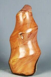 Natural Polished Polychrome Jasper Agate Flame Orbicular Reiki Statue