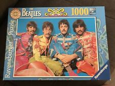 BEATLES SGT PEPPER'S LONELY HEARTS CLUB BAND RAVENSBURGER 1000 PIECE PUZZLE