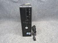 Dell Optiplex 745 SFF PC Intel Core 2 Duo E6600 2.40GHz 4GB RAM 250GB HDD