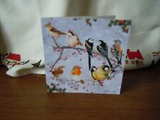Christmas Card Birds on a Branch