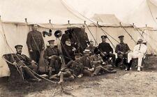 Officer Group Volunteer Battalion Manchester Regiment at annual camp