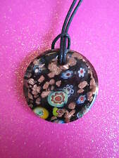 MURANO FLOWER GLASS NECKLACE