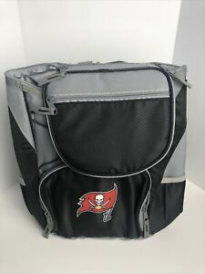 NFL Tampa Bay Buccaneers PTX Insulated Backpack Cooler, Black