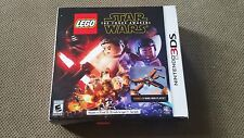 LEGO STAR WARS THE FORCE AWAKENS NINTENDO 3DS bonus x-wing mini playset