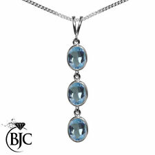 Topaz White Gold Fine Necklaces & Pendants