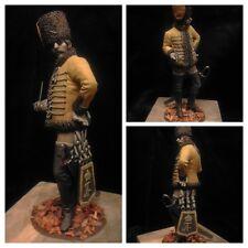Sk Miniatures 7 años época de la guerra húsar 18th C. 75mm sin pintar KIT Mike en Blanco