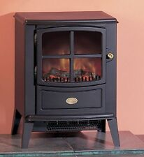 Dimplex Brayford Black Free Standing Electric Fire 2kw Includes Remote Control