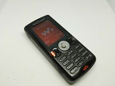 SONY ERICSSON W810i SATIN BLACK MOBILE PHONE UNLOCKED GOOD CONDITION