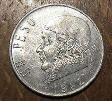 PIECE DE 1 PESO DU MEXIQUE 1982 (162)