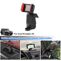 Car Phone Holder Cellphone Mount Bracket Adjustable for 2012-17 Jeep Wrangler JK