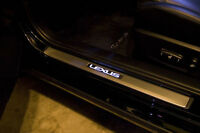 OEM 2015-up Lexus NX300h Illuminated Door Sills Factory Genuine