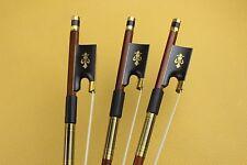8 pcs New 4/4 Violin Bow Superior Brazilwood ebony frog violin parts