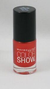 New Maybelline Color Show Nail Polish-130 Crushed Clementine