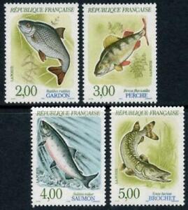 France: 1990 River Fish (2227-2230) MNH