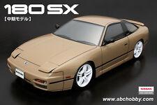"""ABC-Hobby 66153 1/10 Nissan 180SX """"Chuki"""" Edition inkl. LED Halter"""