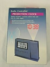 Brookstone Radio Controlled Projection Alarm Clock