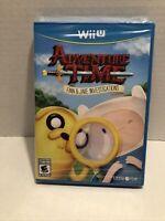 Adventure Time: Finn & Jake Investigations (Nintendo Wii U, 2015) NEW & SEALED !