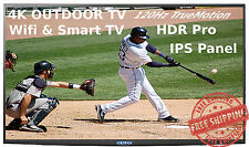 "55"" Sealoc Ultra Outdoor TV, 120Hz, Smart TV, 4K"