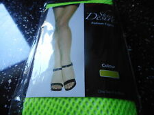 NEON GREEN FISHNET TIGHTS ONLY 99P  ONE SIZE SALE