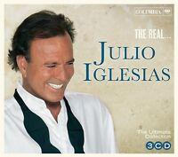JULIO IGLESIAS - THE REAL...JULIO IGLESIAS  3 CD NEU