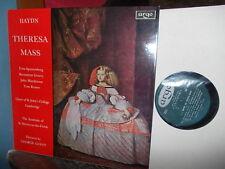 HAYDN: Theresa Mass > St John's Collge Choir ASMF Guest / Argo UK stereo LP VG+