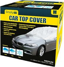 Simply Water Rain UV Sun Frost Resistant Fully Breathable Car Top Cover - Medium