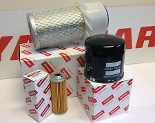 Yanmar Filter Kit B25V  (3TNE78A-BIA Engine) Air Oil Fuel