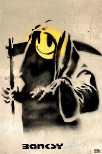 Banksy - Reaper Maxi Poster